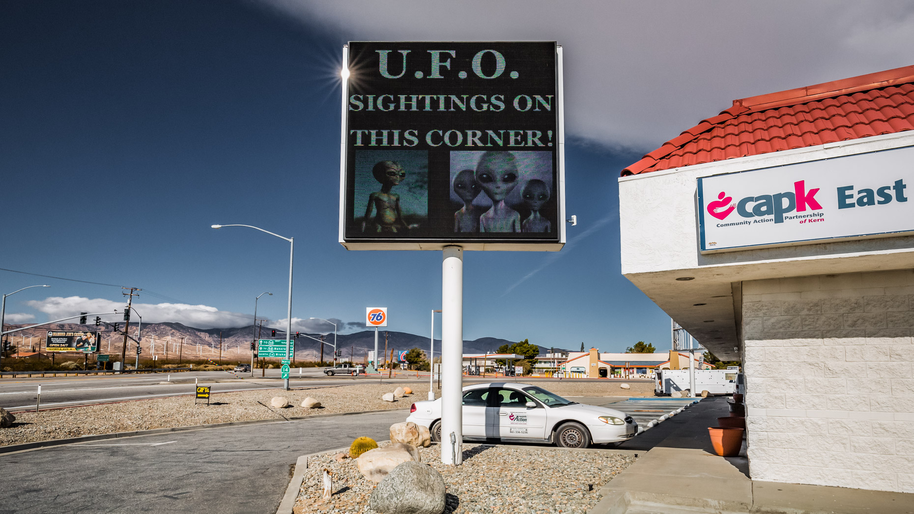 UFO Sightings On This Corner!