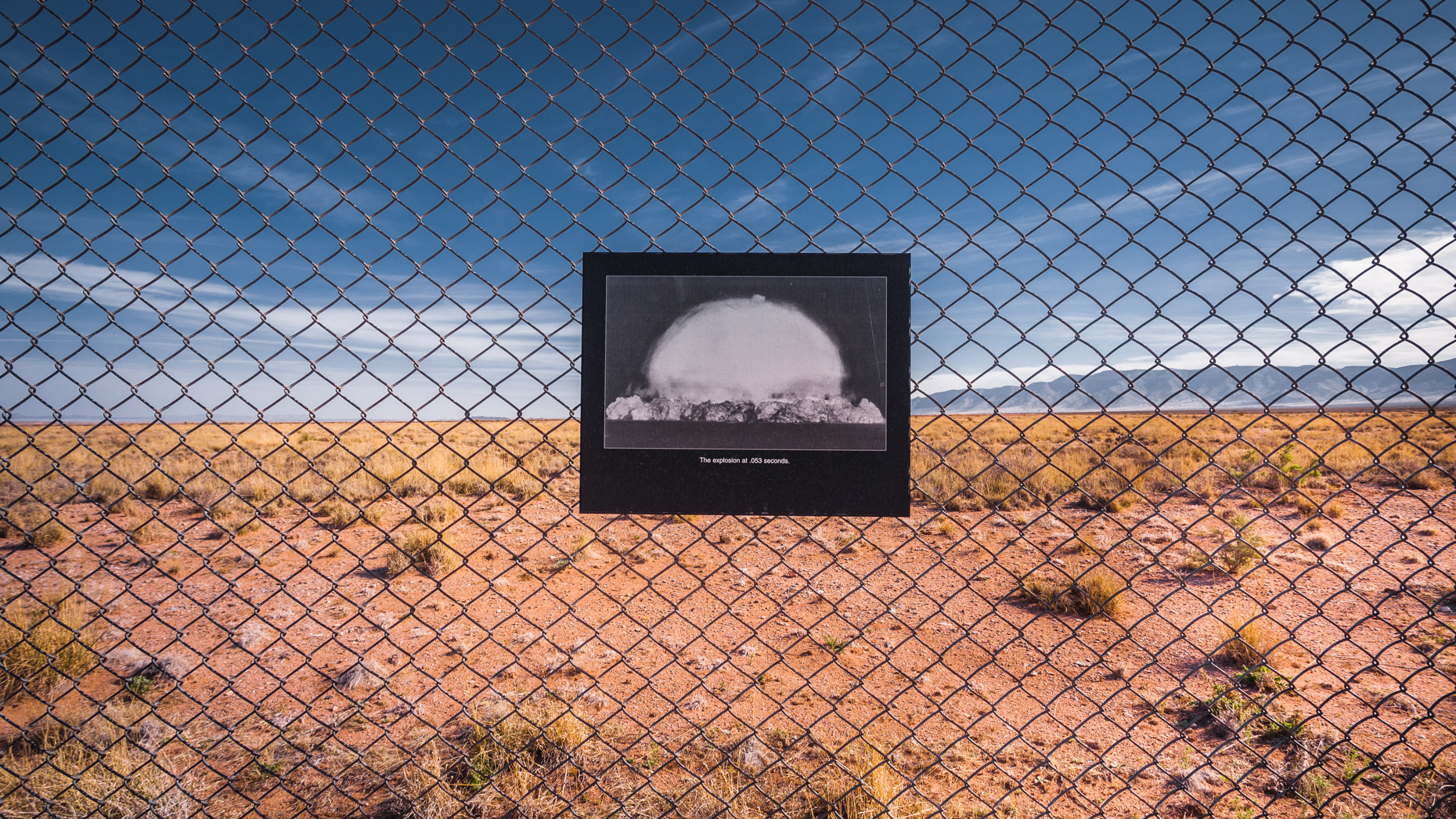 Trinity Site. The explosion at .053 seconds