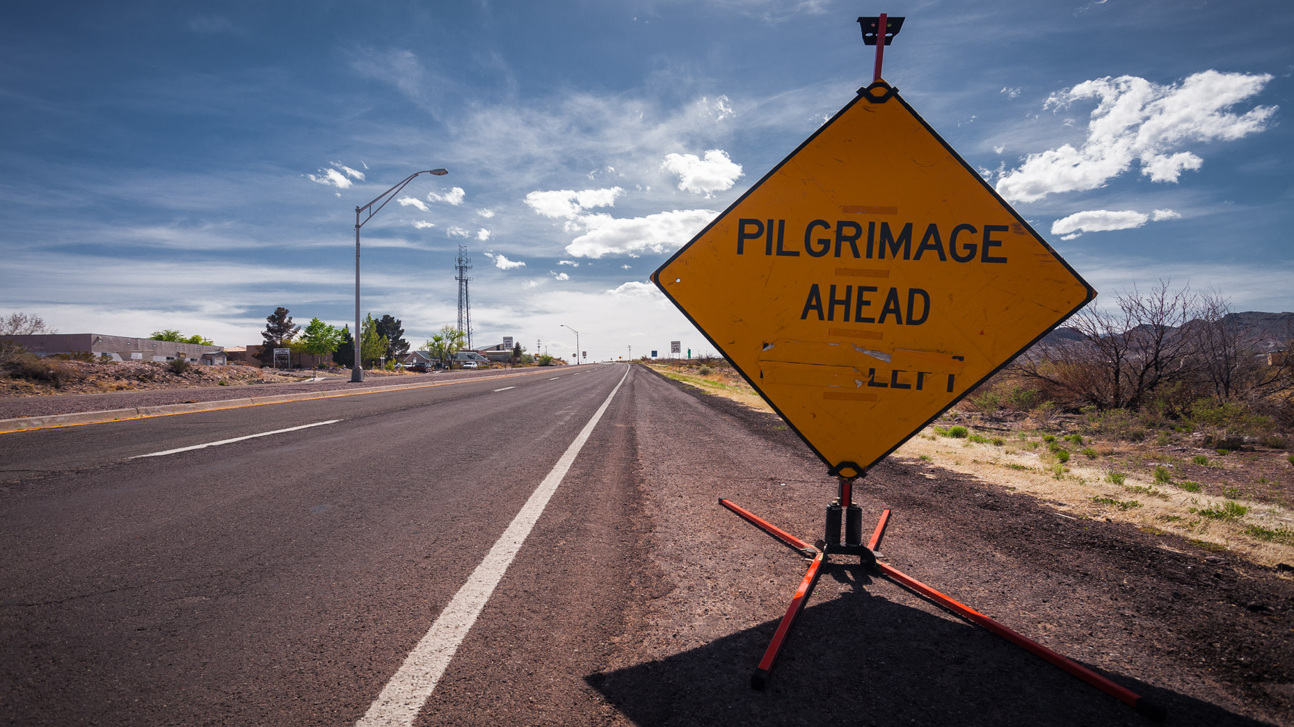 Pilgrimage Ahead